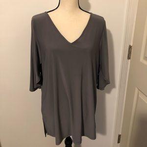 Iman cold shoulder blouse 👚 Size L